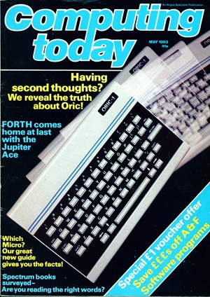 Computing ToDay May 1983 cover