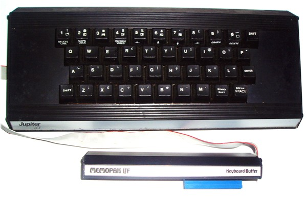 Jupiter Ace Memotech Keyboard and Buffer
