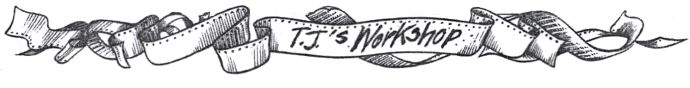T J's Workshop logo