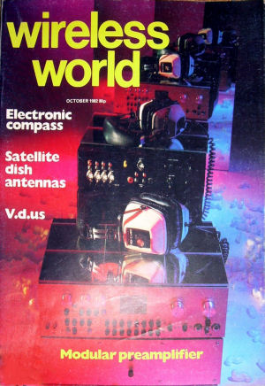 Wireless World October 1982 Cover