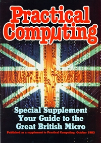 Practical Computing Special Supplement October 1983 Cover