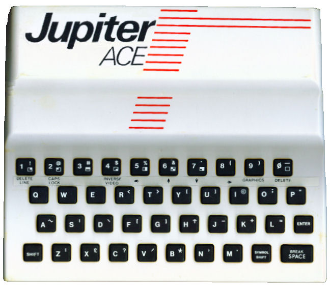Steve Parry-Thomas`s Issue 1 Jupiter Ace bought in 1983